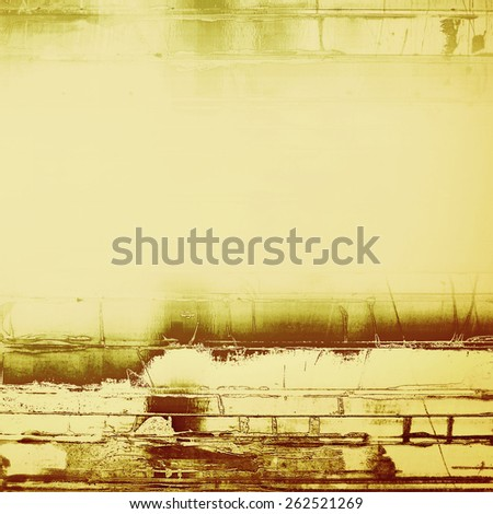 Colorful vintage texture. With different color patterns: yellow (beige); brown; gray