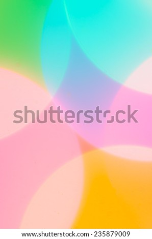 colorful vivid circles abstract background - stock photo