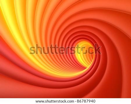 Colorful Vortex - stock photo