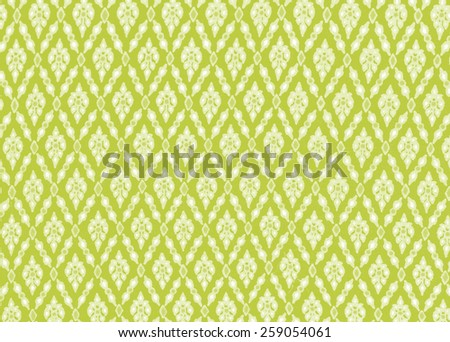 Colorful wale, fabric Thailand pattern texture may use as background  process in tinted photo - stock photo