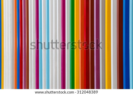 Colorful wall for background.
