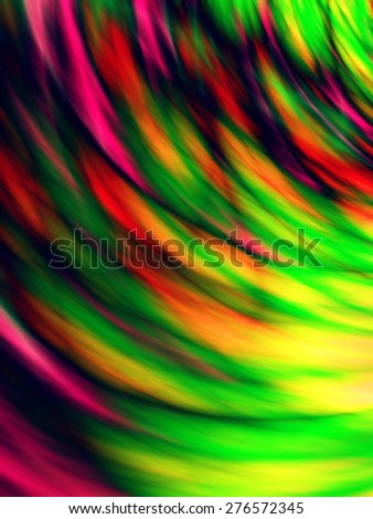 Colorful wallpaper pattern wavy curve backdrop - stock photo