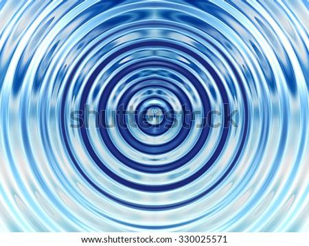 Colorful Water Ripple Resonance Background - stock photo