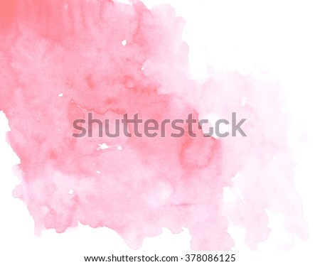 Colorful watercolor background. Abstract art hand paint - stock photo