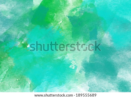 Colorful Watercolor Background for Various Design. - stock photo