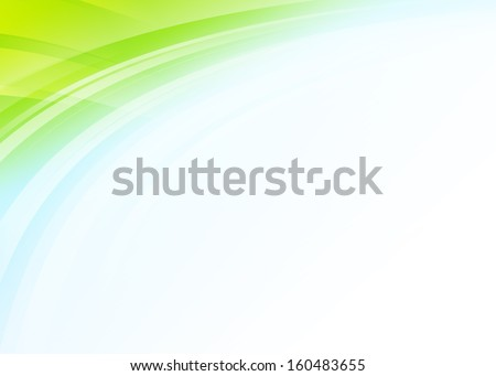 Colorful wave abstract gradient background - stock photo