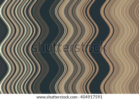 Colorful wavy stripes pattern. Vertical curvy lines. Illustration.