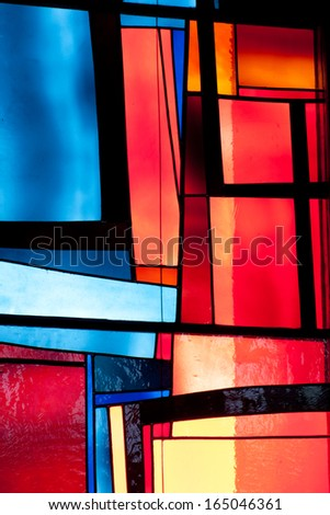Colorful Window - stock photo