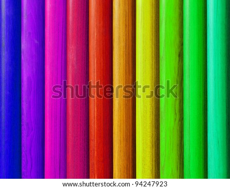 Colorful wood pattern