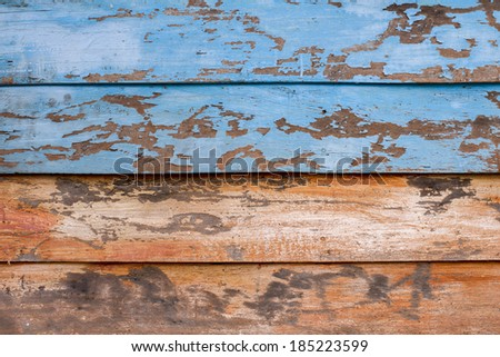 colorful wood wall Vintage - stock photo