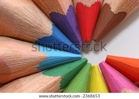 colorful writing