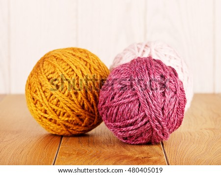 Colorful Yarn Ball