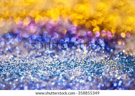 Colorfull glitter background - stock photo