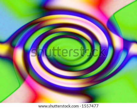 colorfull twirl - stock photo
