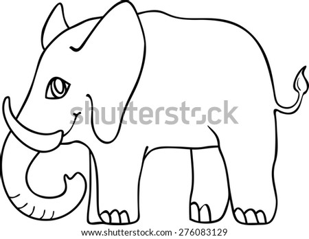 Coloring with elephant