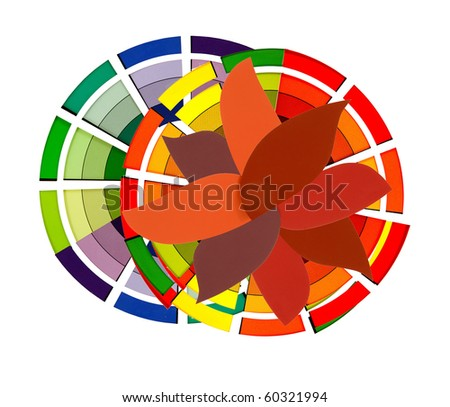 colors,colors,decisions,decision! - stock photo