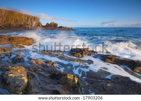 colors of Atlantic - stock photo