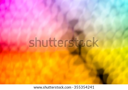 Colors of light night bokeh and blurred background - stock photo
