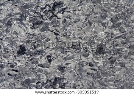 colors of murano glass background liquid texture - stock photo