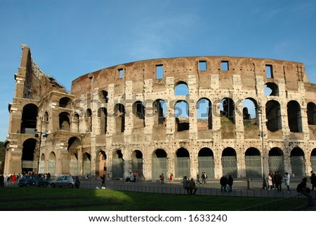 Coloseum at Rome, Italy