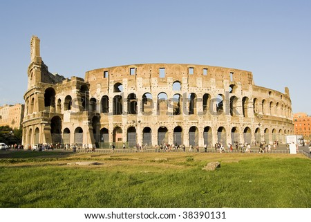 Colosseo - Rome - stock photo