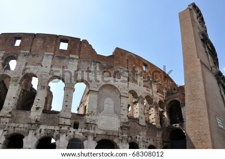 Colosseo, Rome ,Italy - stock photo