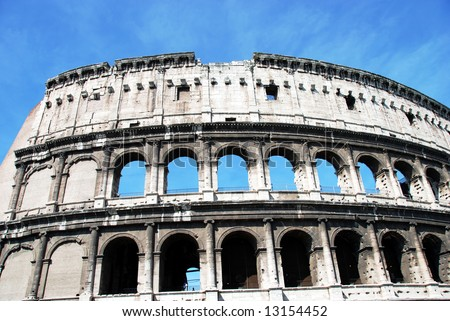 Colosseum in Rome. - stock photo