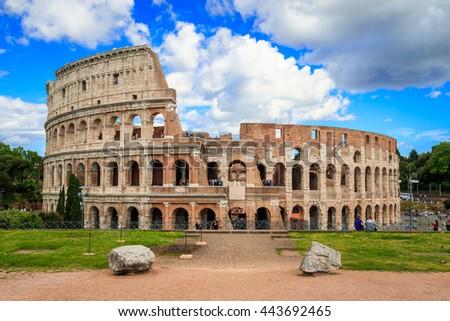 Colosseum, Rome,Italy - stock photo