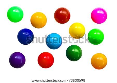 Colour Ball - stock photo