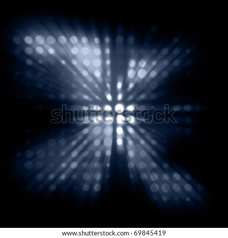 colour dim abstract image with light beams - stock photo