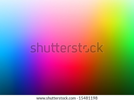 Colour Spectrum - stock photo