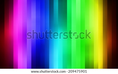 colour spectrum in lines forming a gradient effect - stock photo