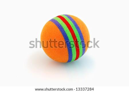 coloured ball - stock photo