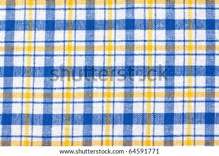 Coloured checkered textile background
