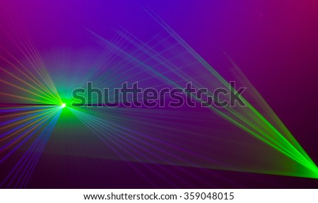 Colourful abstract Laserlight Background with space for text or