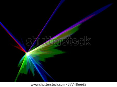 Colourful abstract Laserlight Background with space for text or image format posterize