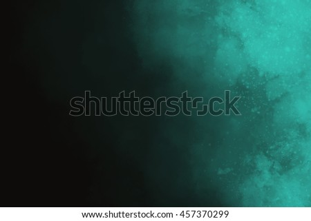 Colourful abstract powder explosion on a black background design