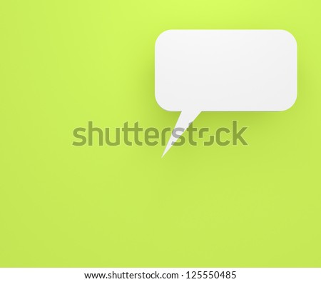 colourful background with talking bubbles, to put person and message over the background.