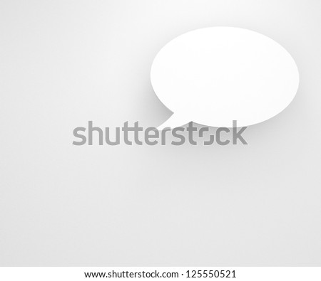 colourful background with talking bubbles, to put person and message over the background. - stock photo