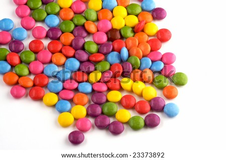 colourful candy - stock photo