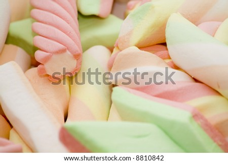 colourful candy background - stock photo