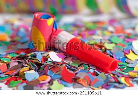 colourful decoration - stock photo