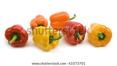 colourful paprika