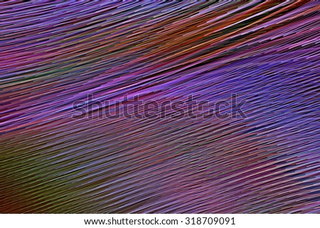 colourful psychedelic pattern on a black background - stock photo
