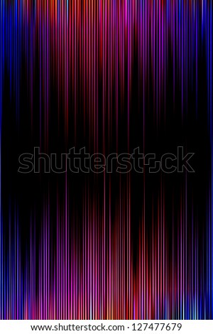 Colourful purple and blue striped background