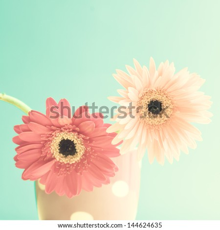 Colourful Retro Flowers