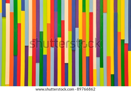 Colourful wall - stock photo