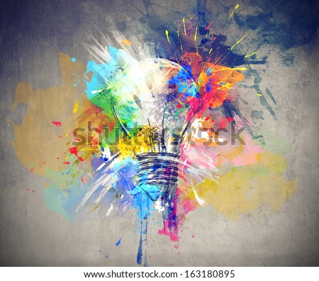 Colours of Life - stock photo