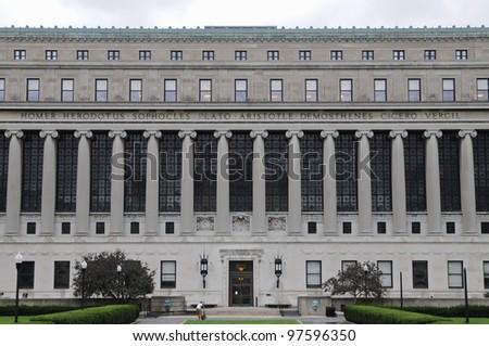 Columbia University, New York City, USA - stock photo