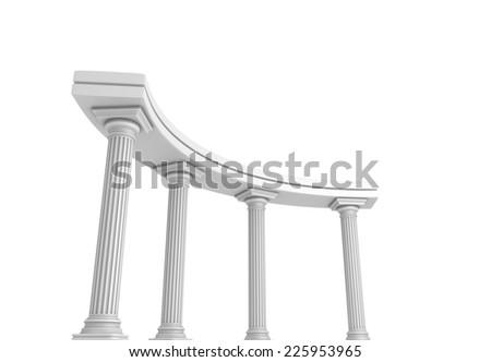 Column Arc - stock photo